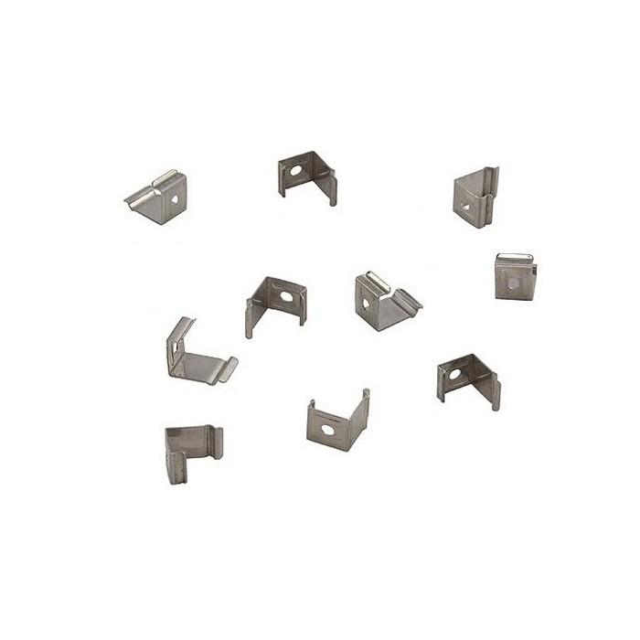 SLV Montageclips für DELF C PRO Lichtbalken, 10 Stück, 45°