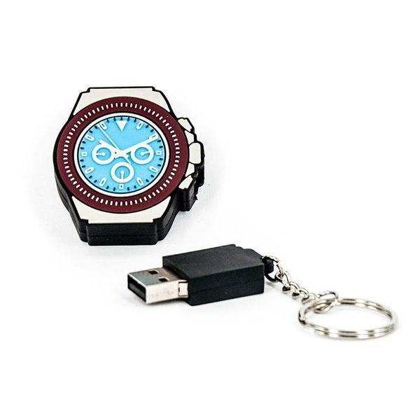 R.L.X. MINI USB UHR WATCH 8GB DAYTONA PLATIN GADGET GESCHENK TIPP NEUHEIT – Bild 1