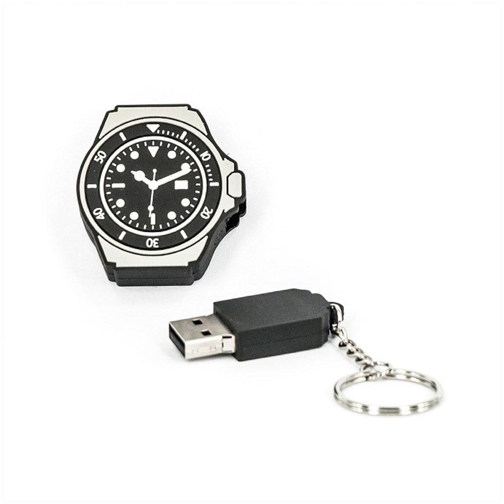 R.L.X. MINI USB UHR WATCH 8GB SUBMARINER SCHWARZ GADGET GESCHENK TIPP NEUHEIT