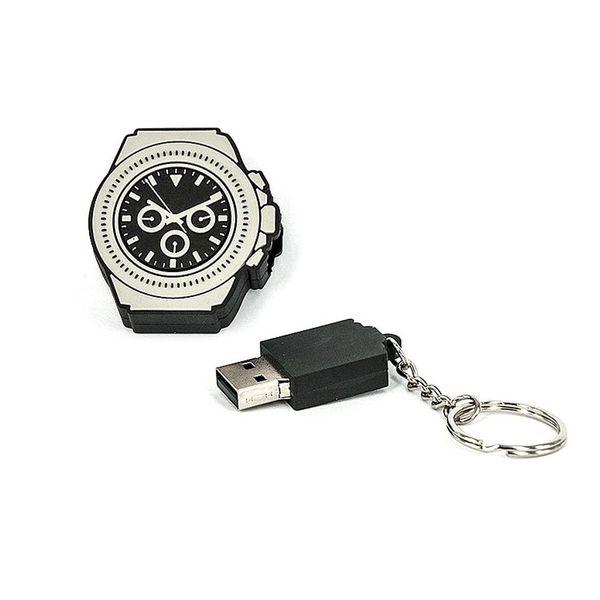 R.L.X. MINI USB UHR WATCH 8GB  DAYTONA SCHWARZ GADGET GESCHENK TIPP NEUHEIT