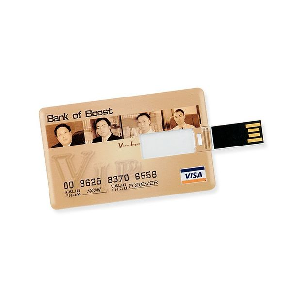 16 GB Speicherkarte in Scheckkartenform Bank of Boost VISA USB – Bild 3