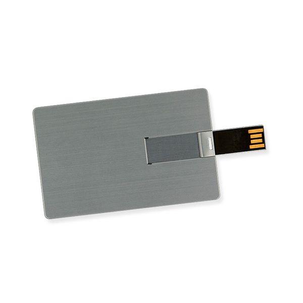 16 GB Speicherkarte in Scheckkartenform Silber USB – Bild 3