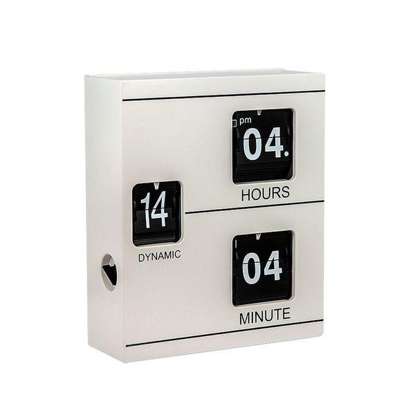 Gagatime Electronic Tischuhr Book Clock, weiss
