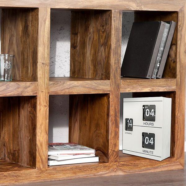 Gagatime Electronic Tischuhr Book Clock, weiss Bild 3