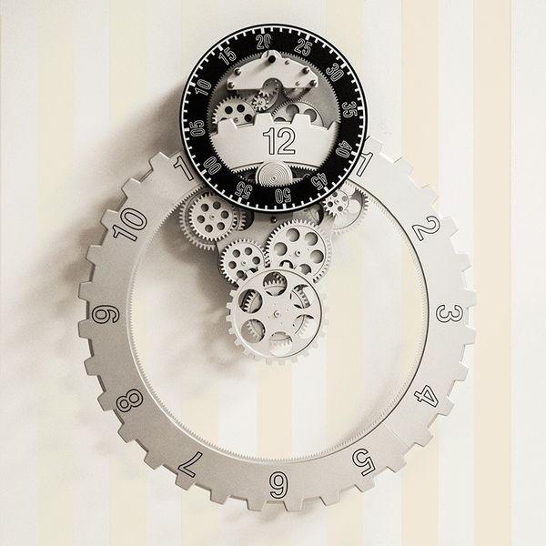 Gagatime No. 03 Gear Ring Wall Clock Bild 2