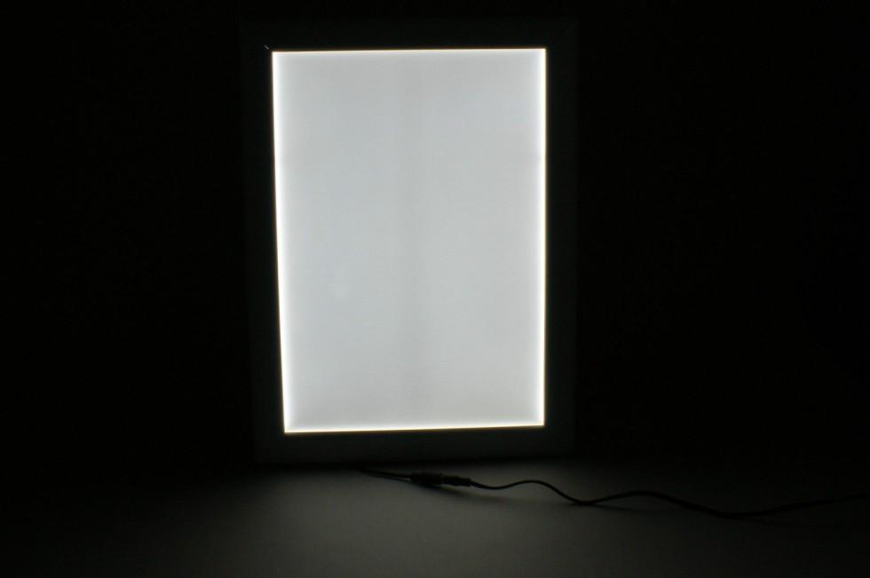 LED Alu Klapprahmen Ultraslim DIN A0 Wechselrahmen Plakatrahmen ...