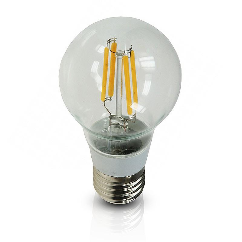 chilitec led gl hlampe 4w 40w e27 filament bulb gl hfadenlampe klar warmton plentino. Black Bedroom Furniture Sets. Home Design Ideas