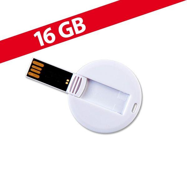 16 GB Speicherkarte in Chipform Weiß USB – Bild 1