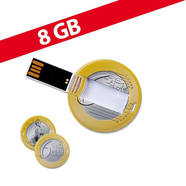 8 GB Speicherkarte in Chipform 6 Euro USB