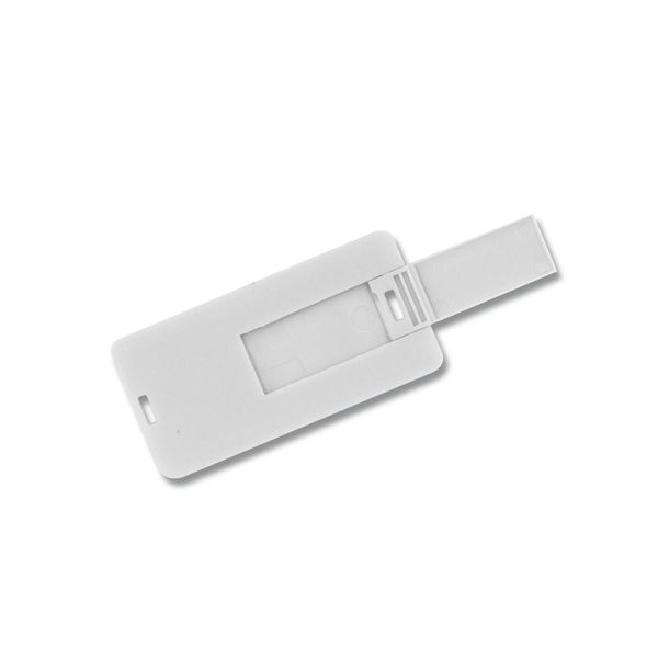32 GB Speicherkarte in Scheckkartenform Mini Weiß USB – Bild 3