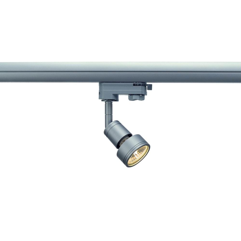 Beliebt SLV PURI 3-Phasen Strahler Spot grau GU10 LED für Erco, Staff NV07