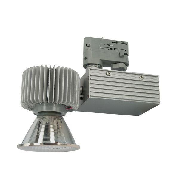 CLE LED Stromschienenstrahler alugrau Philips FORTIMO SLM LED 3600lm 830 CertaDriver – Bild 3