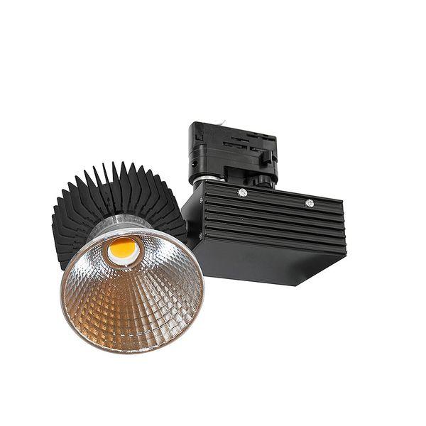 CLE LED Stromschienenstrahler schwarz Philips FORTIMO SLM LED 3600lm 830 CertaDriver – Bild 6