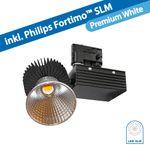 CLE LED Stromschienenstrahler schwarz Philips FORTIMO SLM LED 3600lm 830 CertaDriver