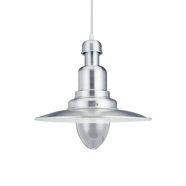Gaga Lamp Design Fishermanlamp dimmbare LED Bulb warmton D: 40cm alugrau inkl. Apple Bulb LED Retro Fit Wasserdeckenpendelleuchte Bild 4