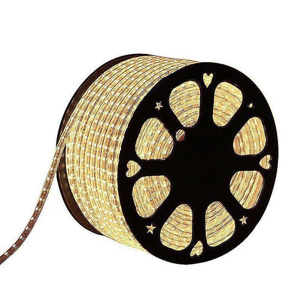 CLE LED Stripe Schlauch 1m Meterware 230V 5050 LEDs neutralweiß 4000K wasserdicht superhell