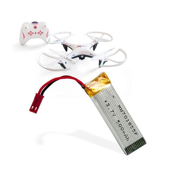 Ersatzakku für AIRCRAFT L6039 ( C ) Quadrocopter Drohne 500 mAh