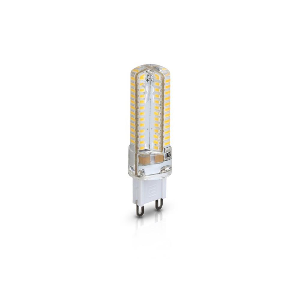 CLE LED Stiftsockellampe 5W (=40W Halogen) 300lm G9 230V AC warmweiß 3000K