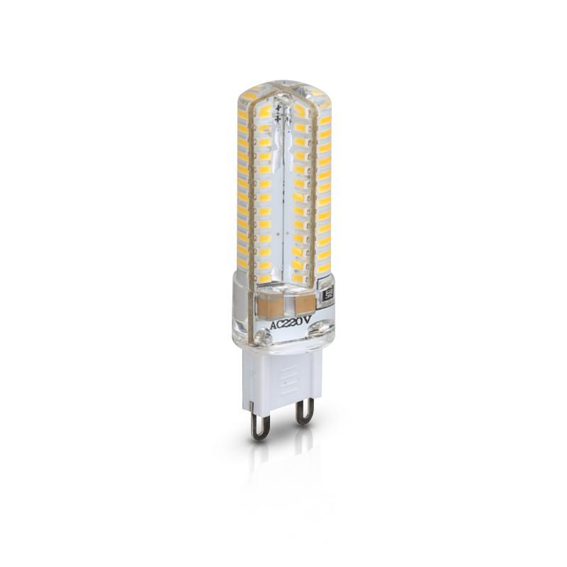 CLE LED Stiftsockellampe 5W (=40W Halogen) 300lm G9 230V AC neutralweiß 4000K