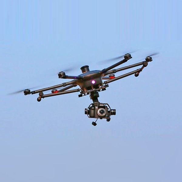 Yuneec Tornado H920 Professioneller Kamera Hexacopter Kofferset: 2 Akkus ProAction Grip Fernbedienung ST24 – Bild 3
