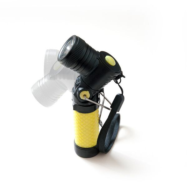 DS24 LED Suchscheinwerfer Schwarz für Drohnen Weiße LED super hell Quadrocopter Sicherheitslicht Zubehör Erweiterung – Bild 2
