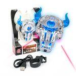 DS24 LED Positionslicht Stier Blau mit Laser für Drohnen super hell Quadrocopter Zubehör Erweiterung