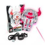 DS24 LED Positionslicht Stier Rot mit Laser für Drohnen super hell Quadrocopter Zubehör Erweiterung