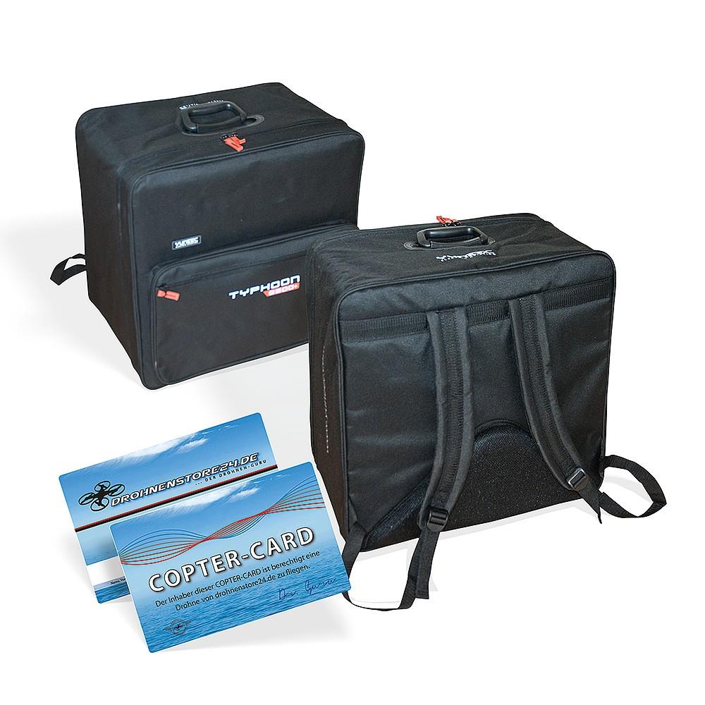 Yuneec Transport Rucksack für Yuneec Q500 Q500+  inkl. Copter-Card