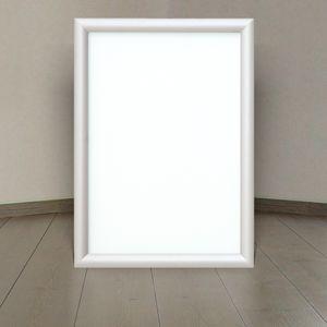 LED Alu Klapprahmen Ultraslim DIN A3 Wechselrahmen Plakatrahmen Alurahmen Lichtdisplay -*A