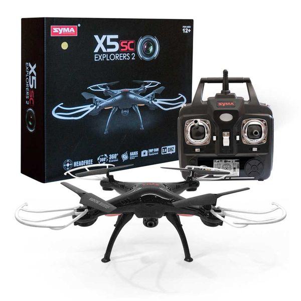 SYMA X5SW WiFi Quadrocopte FPV Kamera mit Copter Card Flugtasche XL Ersatzakku - Explorers 2 Drohne – Bild 2