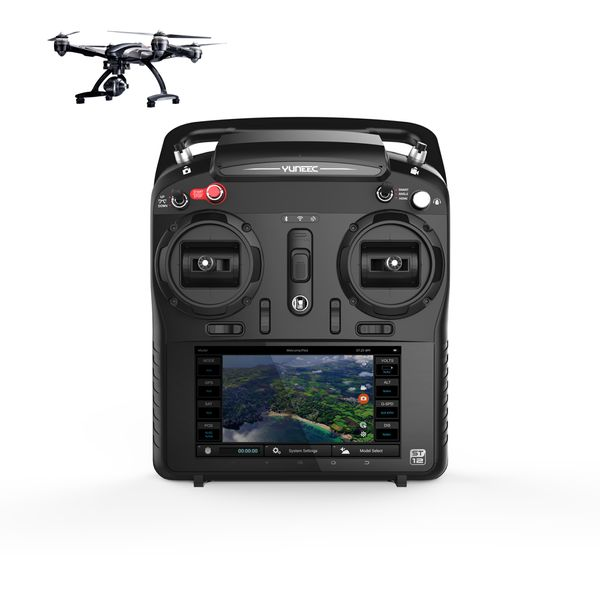 Yuneec Typhoon Q500 Black Edition ST12 Steuerung 1 Akku 4K CG03 Steadygrip mit Copter-Card – Bild 3