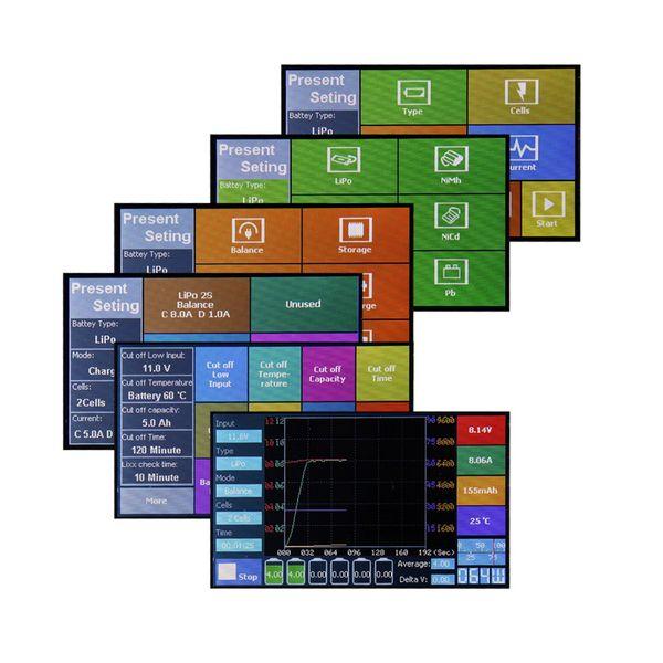 DS24 iMaxRC Touch Ladegerät X100 max. 100W 230V – Bild 7