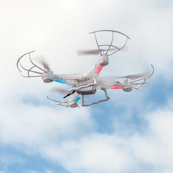 DS24 Spooky SYM X5C Wifi Quadrocopter Drohne FPV Design Transparent – Bild 2