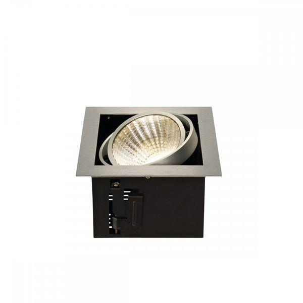 SLV KADUX LED  Single DL Set, alu-brushed, 30°, 3000K, inkl. Treiber