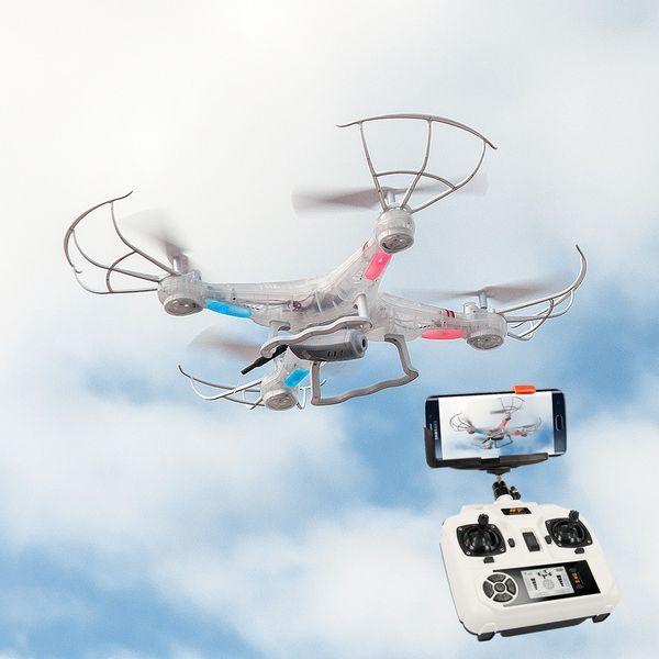 DS24 Spooky SYM X5C Small Business Wifi Quadrocopter Drohne FPV Design Transparent – Bild 5