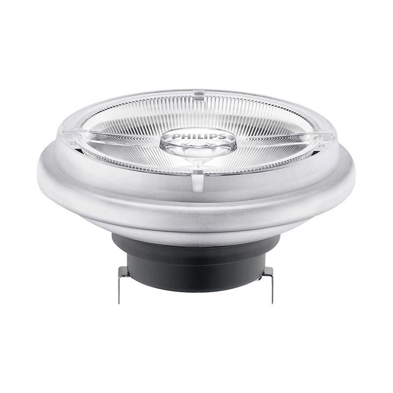 Philips MASTER LEDspot 15W Ersatz für 75W Reflektorlampe AR111 24Grad DIM  830lm 2700K  warmweiß
