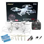 Quadrocopter Scorpius955 FQ777-955 Drohne weiss 2,4Ghz mit 2MP Kamera