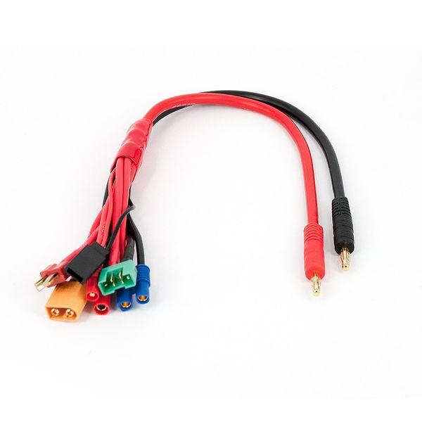 DS24 Multi-Kabel Universal Ladekabel 6 in 1 Drohnen Akku – Bild 1