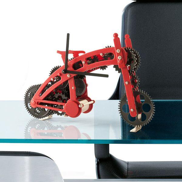 Gagatime Bicycle Gear Clock rot Bild 2