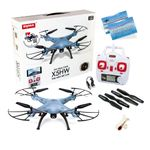Syma X5HW Quadrocopter Drohne Hold Funktion WIFI FPV Kamera inkl. Copter Card – Bild 1