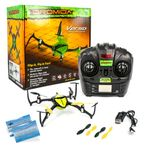 Dromida Verso Mini Quadrocopter Gelb 2,4GHz Flip it Fly it Fun inkl Copter Card