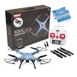 Syma X5HC Quadrocopter Drohne Hold Funktion 2MP Kamera blau  inkl. Copter Card – Bild 1