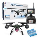 JXD 510G X-predators Quadrocopter Drohne 5,8Ghz FPV Monitor 2 MP Kamera Hold Funktion incl. Copter Card – Bild 1