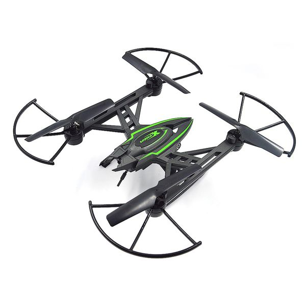 JXD 510W X-predators Quadrocopter Drohne Wifi FPV 0,3MP Kamera Hold Funktion incl. Copter Card – Bild 2