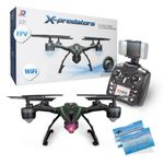 JXD 510W X-predators Quadrocopter Drohne Wifi FPV 0,3MP Kamera Hold Funktion incl. Copter Card