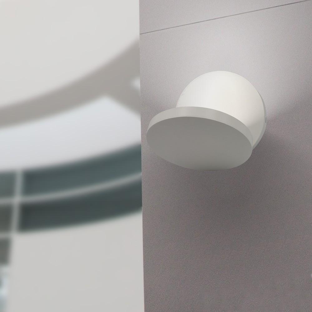Gaga Lamp Design LED Wandleuchte YK Double 430lm sand weiß warmton