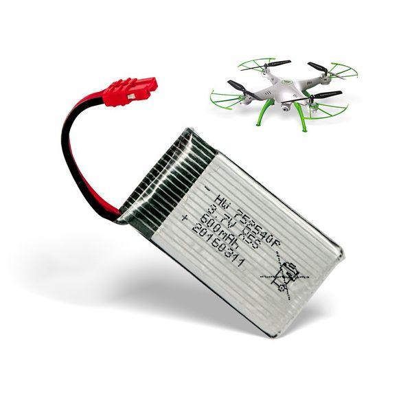 Ersatzakku nur für SYMA X5HC und X5HW Quadrocopter 600 mAh Drohne  – Bild 1