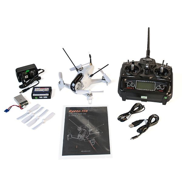Walkera Rodeo 150 mit DEVO7 600TVL Camera Copter Card – Bild 6