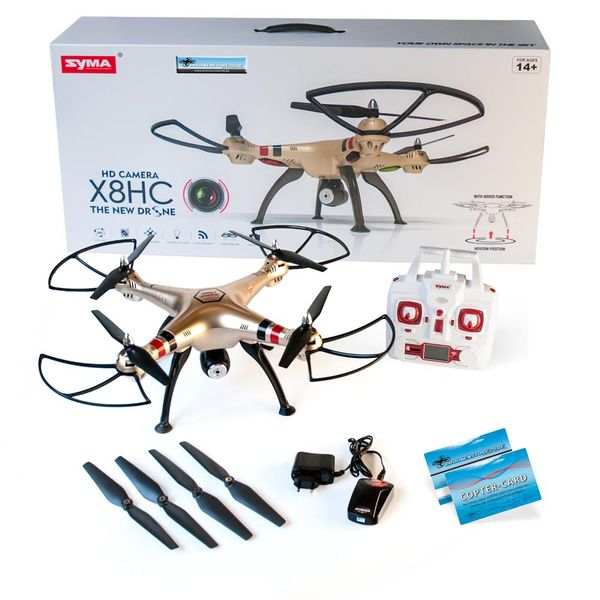 Syma X8HC Quadrocopter Hold Funktion 2MP Kamera Drohne 2.4GHz RTF – Bild 1