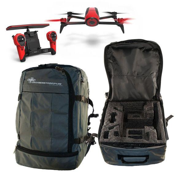 Hochwertiger Rucksack FULL für Parrot Bebop 2 und Skycontroller - sehr angenehm zu tragen - Platz für viel Zubehör - DS24 Edition  – Bild 1
